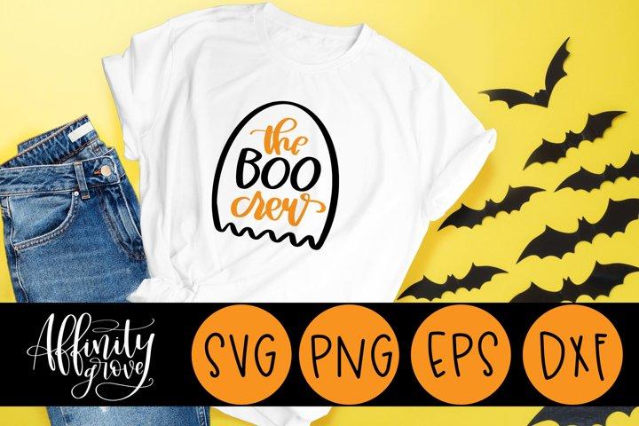 The Boo Crew SVG Cut File for Cricut