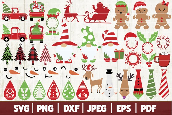 Christmas Bundle SVG - 38 Christmas Ornaments Design