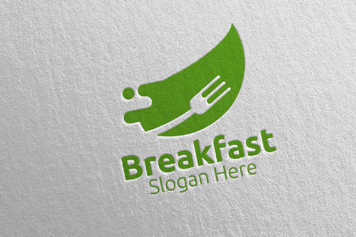 Breakfast Fast Food Delivery Logo 11