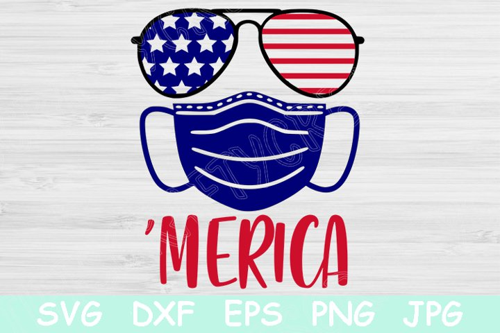 Merica Svg, 4th of July Svg, Patriotic Svg, Independence Day