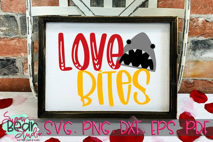 Love Bites - A Valentine SVG