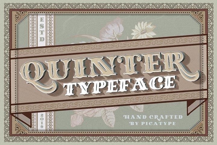 Quinter Typeface