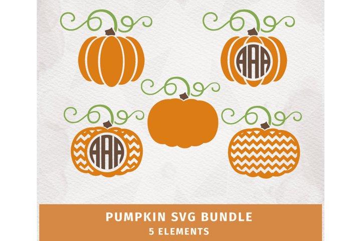 Pumpkin SVG Bundle