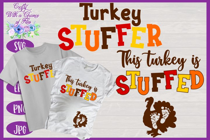 Thanksgiving SVG | Matching Pregnancy Reveal Shirt Designs