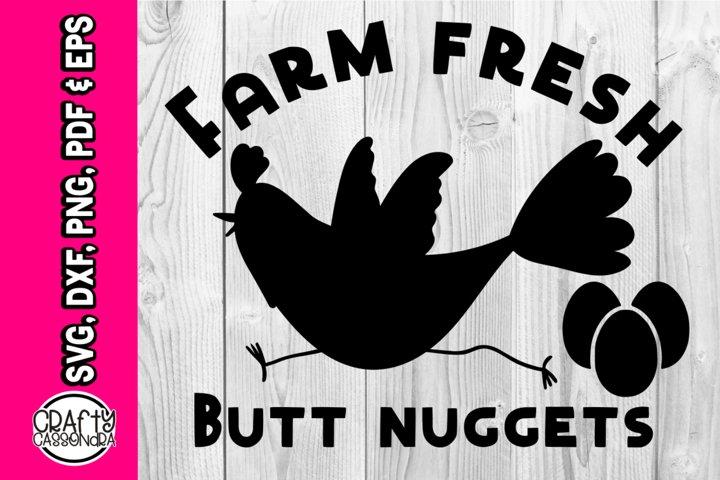 Farm fresh butt nuggets- part of Chicken bundle