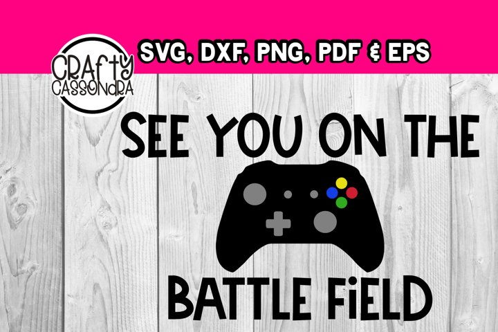 Video game - See you on the battle field - Gaming controller