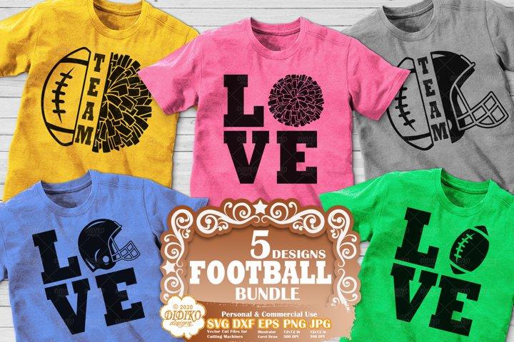 Football SVG Bundle | Football SVG | Football Family SVG