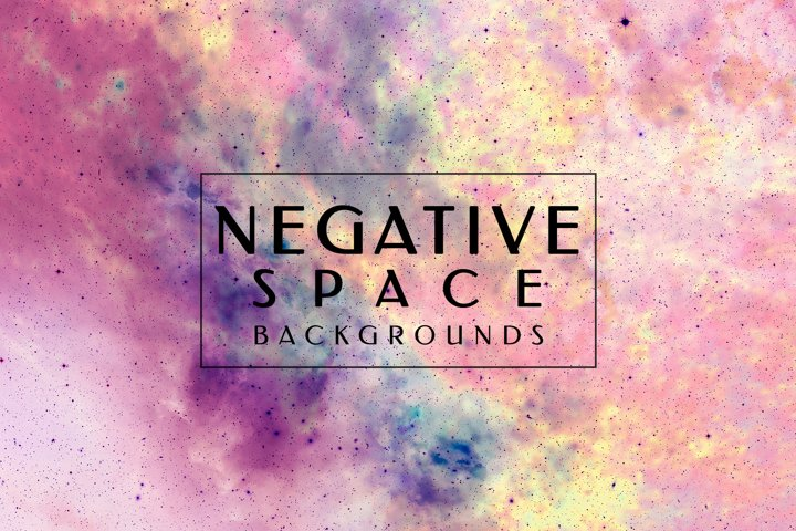 Negative Space Backgrounds