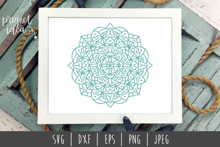Mandala Mini Bundle Set of 6- SVG example 2