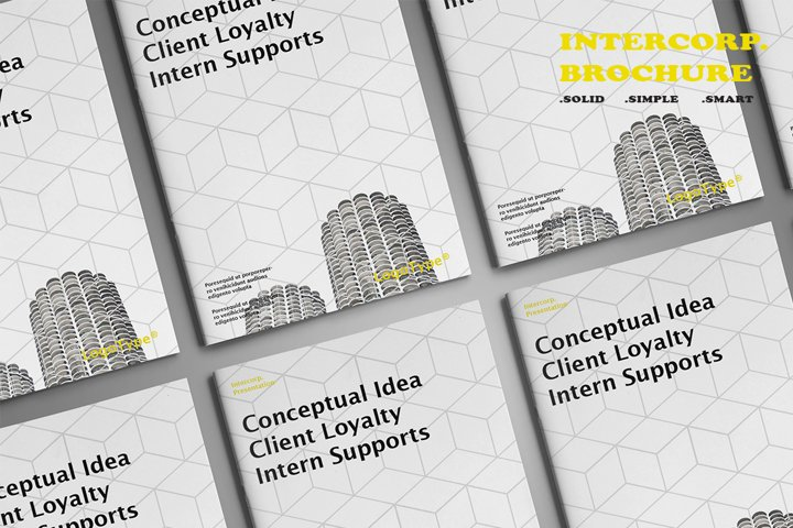 Intercorp Brochure Template
