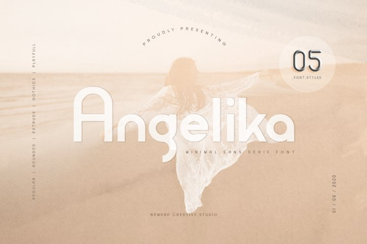 Angelika Family Fonts
