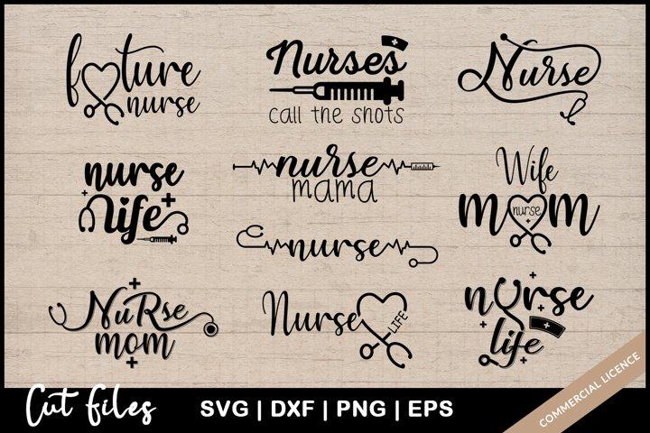 Nurse SVG Bundle - Nurse SVG Cut Files