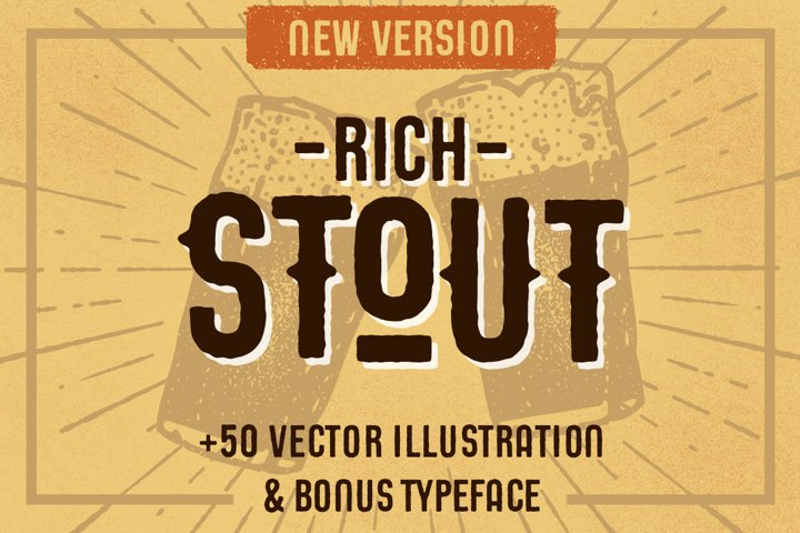 STOUT Typeface - Free Font of The Week Font