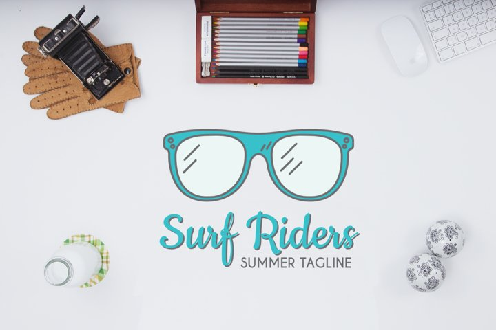 Surf Riders Logo Template
