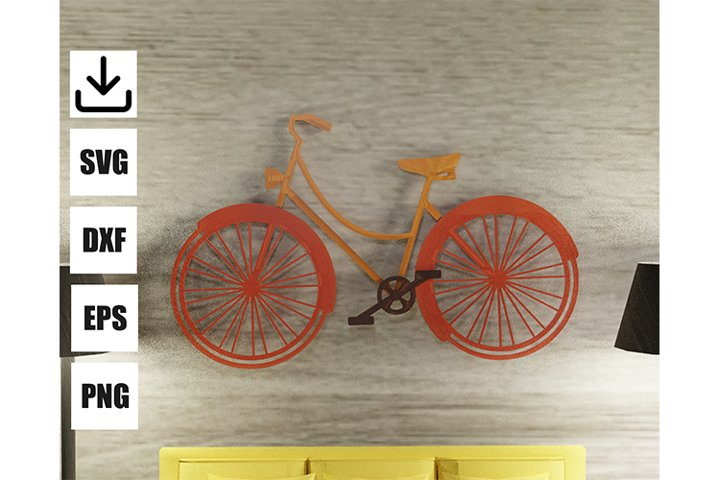 RETRO BIKE for wall art