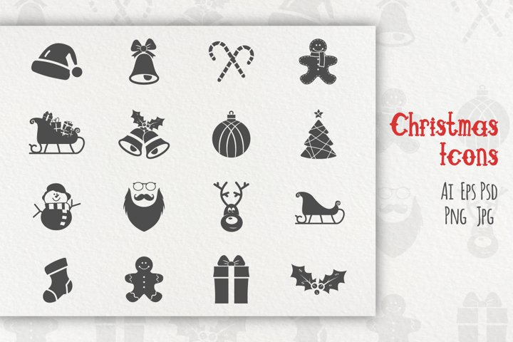 Christmas Icons Collection example