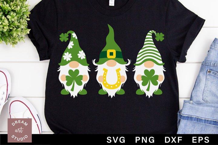 St patricks day gnomes svg png Lucky svg Shamrock svg
