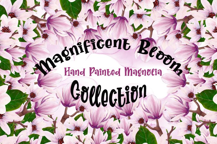 Magnolia Bloom Collection