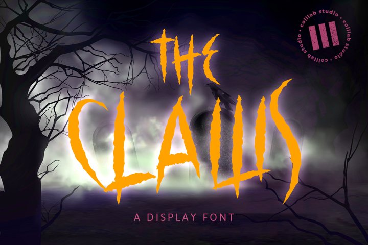 The Claws - A Display Font