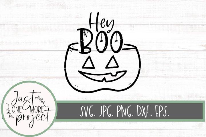 Hey boo svg, pumpkin svg, october svg, Boo svg, Halloween