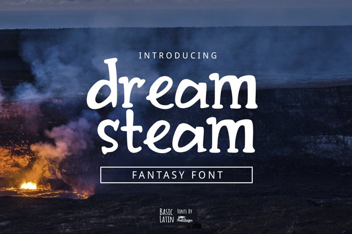 Dream Steam Font