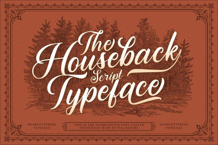 Houseback