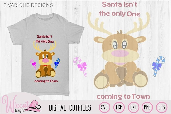 Baby boy Reindeer svg, baby deer svg, baby Christmas
