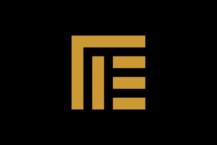 initial me/mea/am monogram logo template