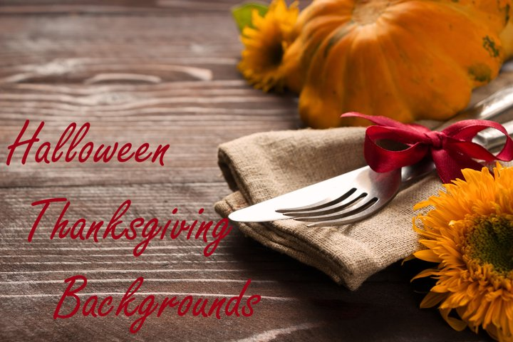 Halloween Thanksgiving backgrounds