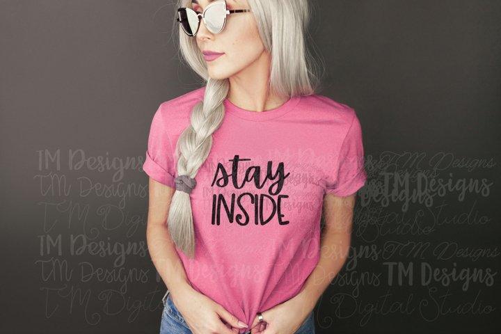 Stay Inside SVG / Printable