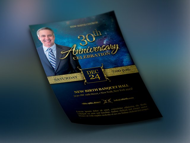 Church Anniversary Template