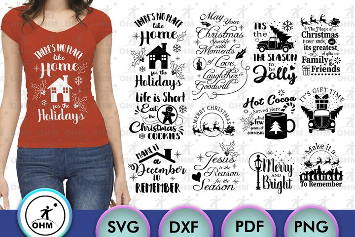 Merry Christmas Bundle, Cricut Ideas, Emoticons