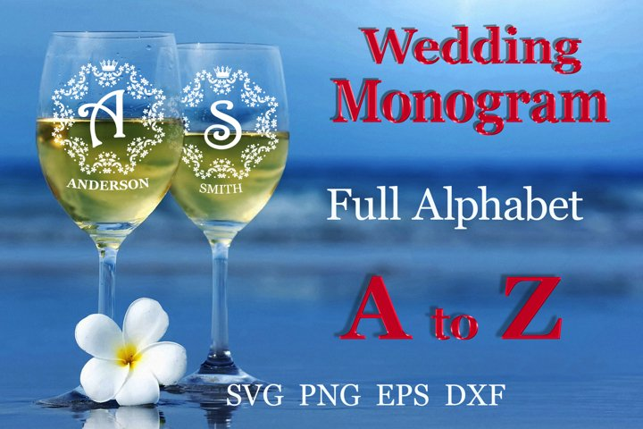 26 Wedding split monogram Wedding font SVG Engagement svg