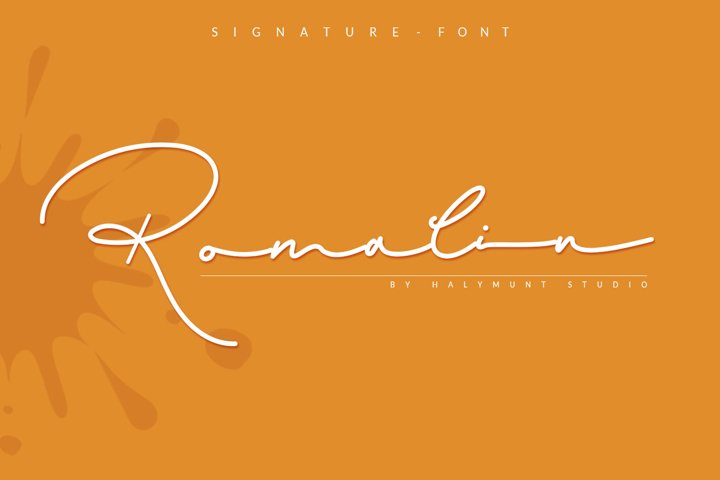 Romalin Heart / Signature