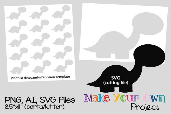Dinosaur SVG shape