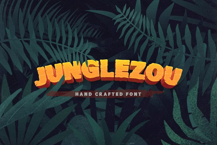 Junglezou Typeface