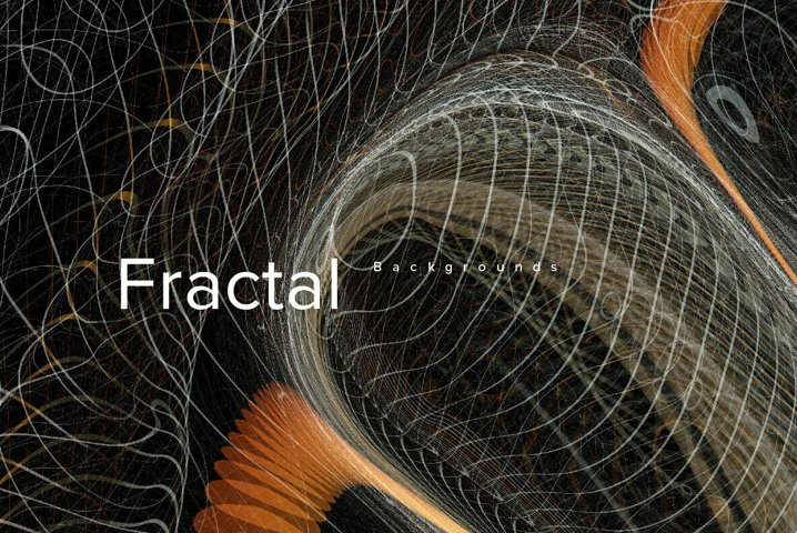 Fractal backgrounds