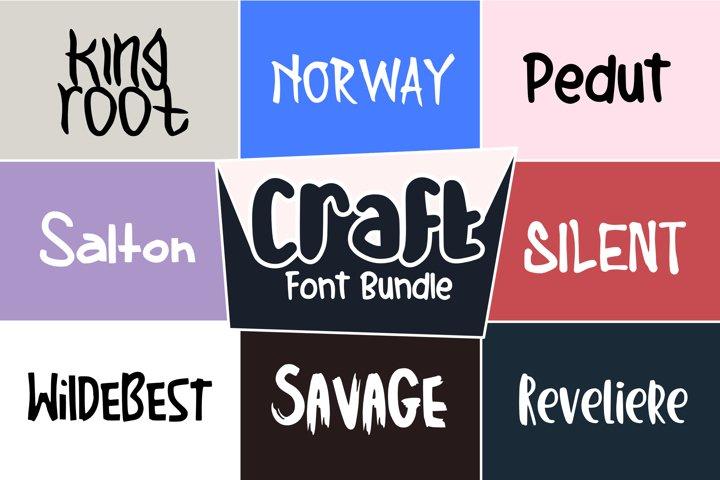 Craft Font Bundle