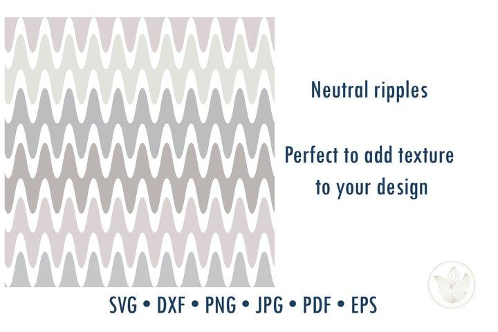 Neutral colors ripple chevron texture pattern svg cut file