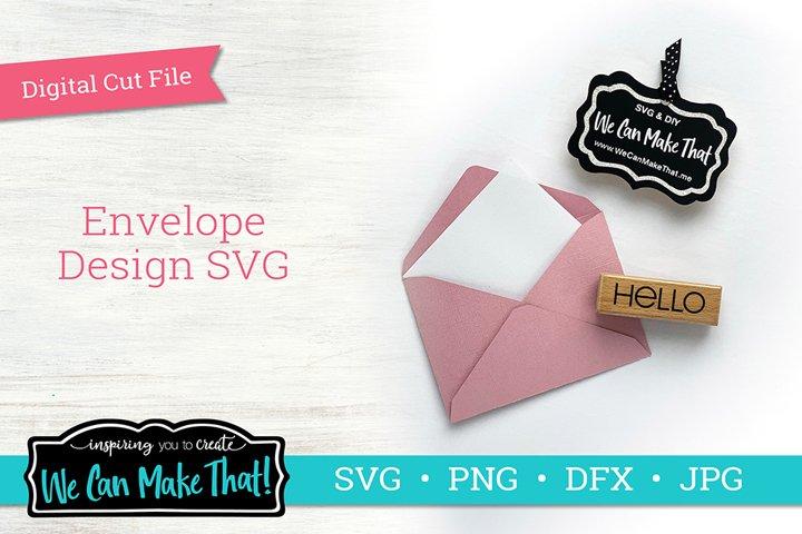 Envelope Design SVG