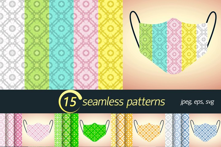 seamless pattern for mask