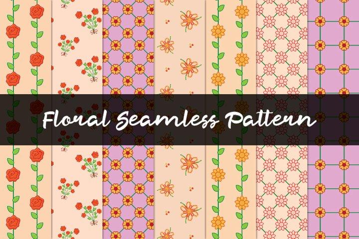 Flowers Pattern Set