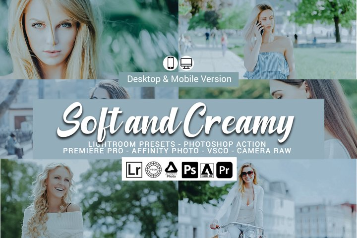 20 Soft and Creamy Presets