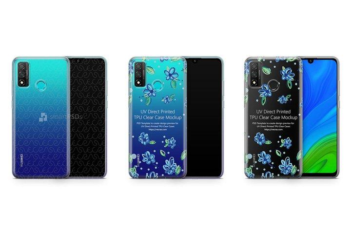 Huawei P Smart 2020 TPU Clear Case Mockup