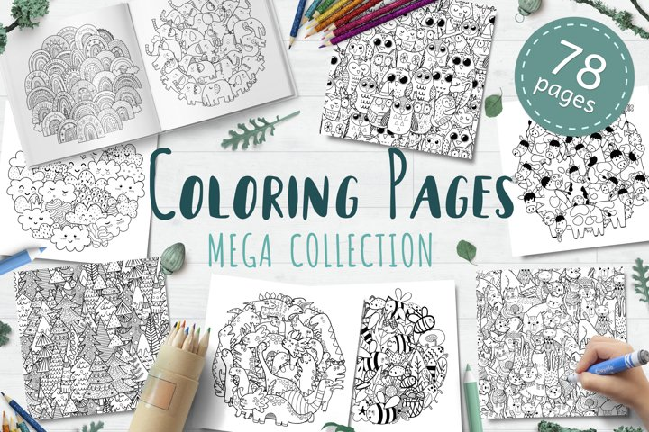 Coloring Pages Mega Collection