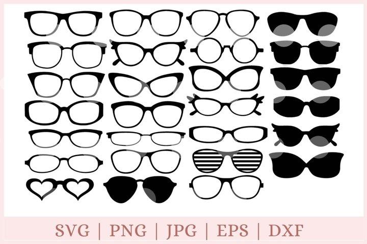 glasses svg, eyeglasses svg, sunglasses svg
