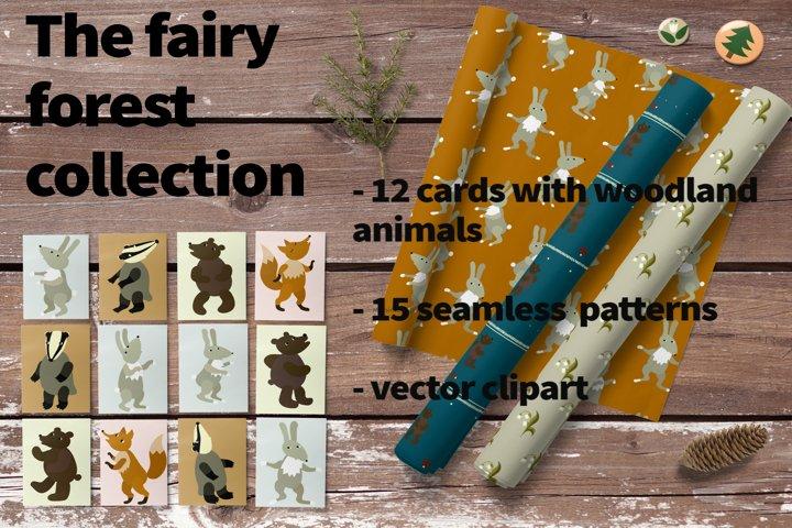 Fairy forest big design bundles