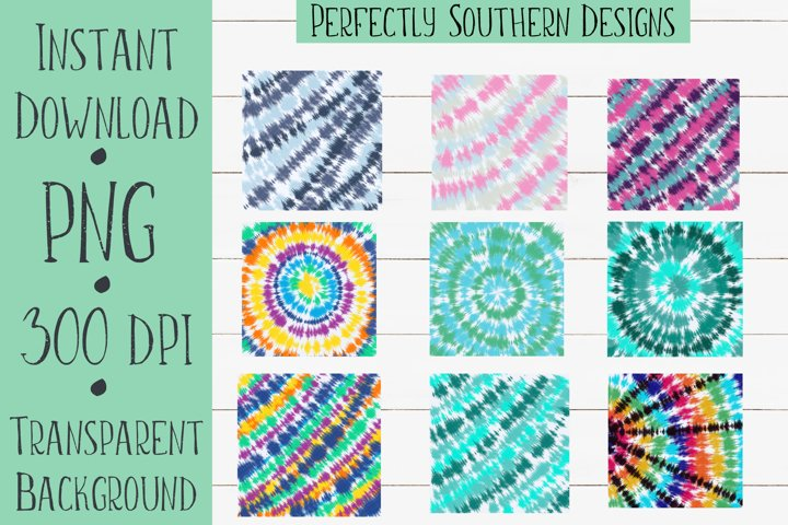 Tie Dye Background Bundle