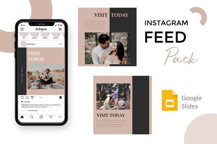 Instagram Feed - Visit