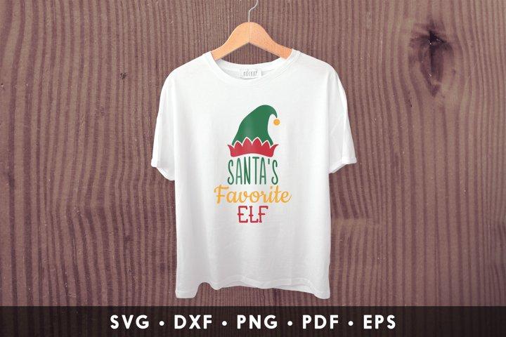 Santas Favorite ELF, ELF SVG, Christmas SVG, ELF Clipart